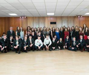 Venček Gymnázia Metodova a Cirkevnej strednej odbornej školy Elektrotechnickej 2018-2-17