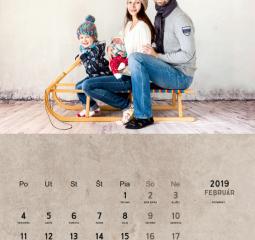 Rodinný fotokalendár na rok 2019