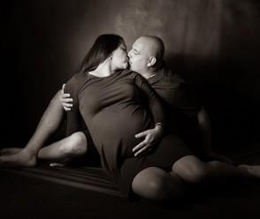 Tehotenské fotenie v pohodlí domova